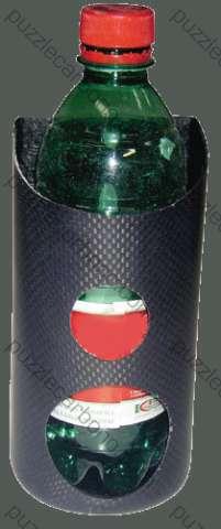 Flaskhållare i kolfiber