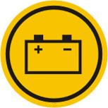 Batteridekal