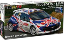 Peugeot 207 S2000 Meeke - Nagle