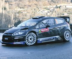 Ford Fiesta RS WRC Tanak - Sikk Monte Carlo 2012