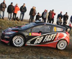 FORD Fiesta RS WRC Solberg - Wilson Monte Carlo 2012