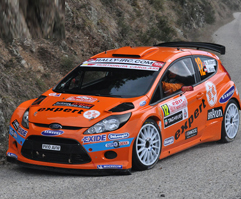 Ford Fiesta S2000 Solberg Monte 2011