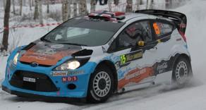 Dekaler FORD FIESTA RS WRC - OSTBERG - RALLY SWEDEN 2012 1:24