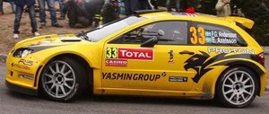 Proton S2000 PG.Andersson Rally Monte Carlo Slutsåld