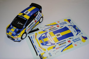 Ford Fiesta RS WRC P-G Andersson - E Axelsson Rally Sweden 2011