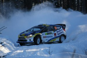 Ford Fiesta RS WRC P-G Andersson - E Axelsson Rally Sweden 2011 Dekaler