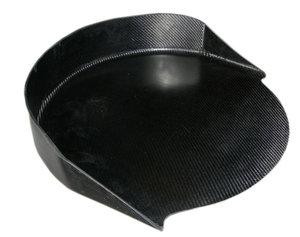 Reservhjuls hållare Kolfiber