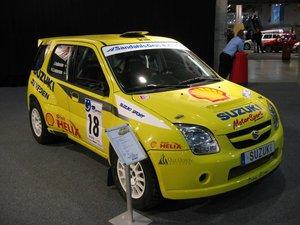 Suzuki Ignis S1600 P-G Andersson Rejme rallyt 2004