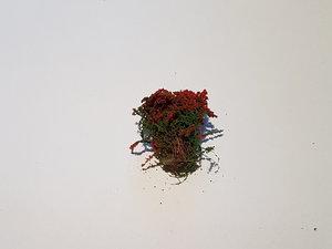 Blommor Röd 2cm