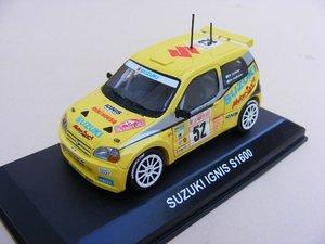 Suzuki Ignis S1600 D.Carlsson - M.Andersson MonteCarlo 2003