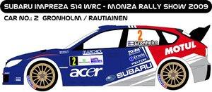 Subaru Impreza S14 Grönholm Monza Rally Show
