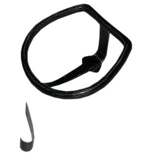 Helmet support + Hook of clamping