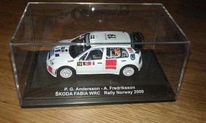 Skoda Fabia WRC P-G Andersson