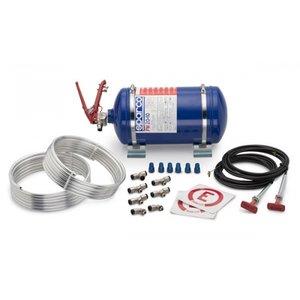 4.25L Mekaniskt brandsläckningssystem i stål från Sparco.