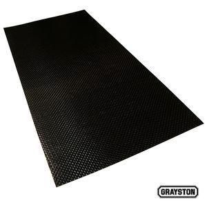 Kolfiber platta 50x25cm med 3M tejp på ena sidan