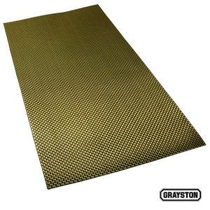 Kevlar platta 50x25cm med 3M tejp på ena sidan