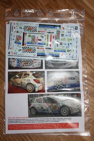 Peugote 207 S2000 Delecure Monte Carlo 2011